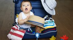 what to pack when traveling with a baby